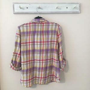 Anthropologie Tops - Postmark Plaid Button Down